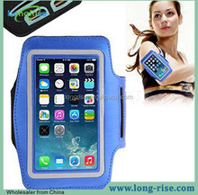 Best Running Armband for iPhone 5 5S, Colorful Case for iPhone 5S Armband with Key Holder, Blue