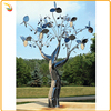 Hot Sale Stainless Steel Tree Sculpture For Garden Decoration