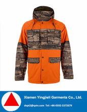 2015 super warm nylon face colorful Men ski jacket for North America