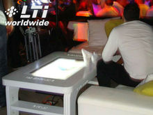 iTable multitouch menu lounge table interactive