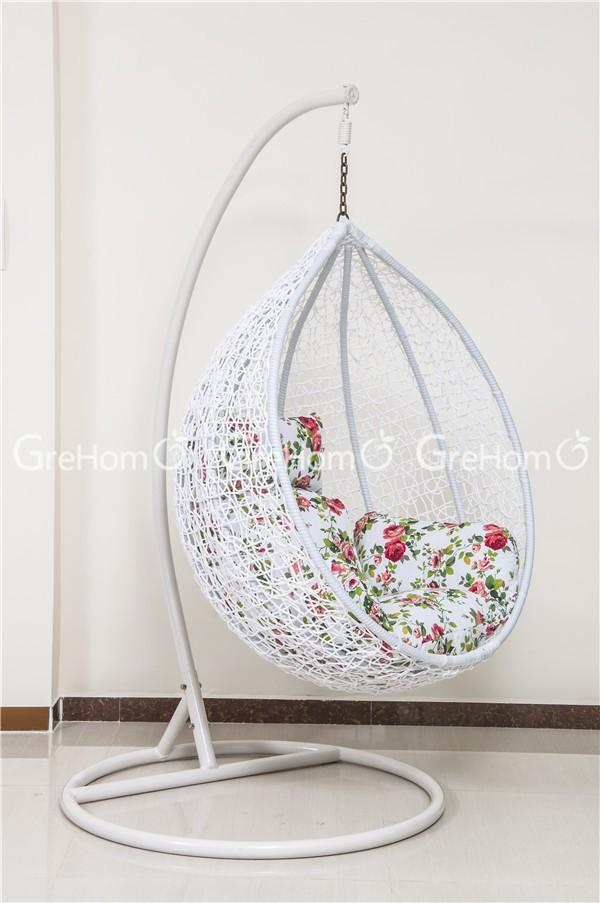 Rattan Egg Garden Furniture White Kids Swing Chair Buy