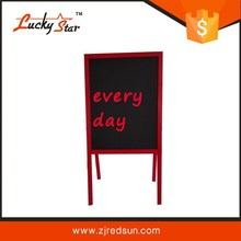 double sides wooden frame cork board,bulletin board,pins board drawingboard with standard accessories
