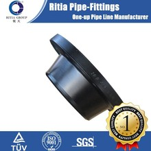 black paint carbon steel forged fitting flange