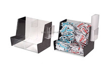 factory price on sale acrylic candy dispenser box, plastic candy containers