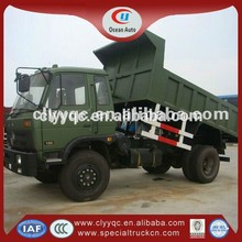Low price for CLW used tipper trucks for sale