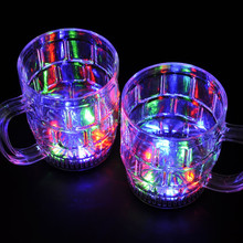 Colorful Induction Beer LED Flash Cup for Party Supplies Christmas Gift SJ-LC36