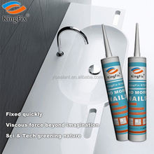 white color Wide range use Multifunction liquid nail glue for Wood line