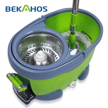 BEKAHOS 2015 new products microfiber cleaning as seen on TV spin mop