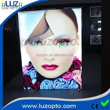 free standing advertising board, flex face led light box,led freestanding display