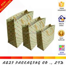 china supplier custom printing recycle luxury matte lamination amazon wholesale paper shopping bag
