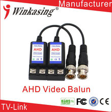 New product Twisted-pair bnc connector video balun for CCTV