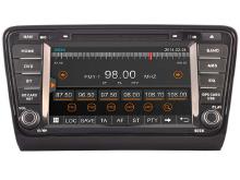 FOR SKODA Octavia AUTO DVD 2013-2014 WITH CAPACITIVE SCREEN BLUNTOOTH 3G WIFI CD COPY