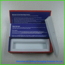 2015 High quality Paper Packaging Box Foam inserts