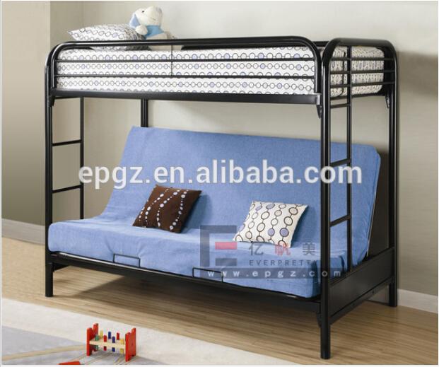 학생 기숙사 가구 현대적인 금속 이층 침대, 대학 로프트 침대 ...
