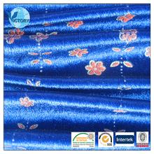 Make-to-Order 100% Polyester Velvet Material for Dresses