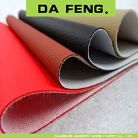 high quality red leather motorcycle seat cover leather material