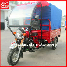 3 Wheel Cargo Trike For Cargo And Passenger With Waterproof Canvas KAVAKI MOTOR