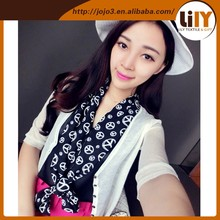 Women's fashion chiffon scarf classic scarf scarf shawl long section S2693
