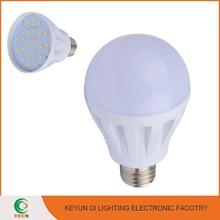 Aluminum plasic brightness e27 led light bulb led bulb 5w