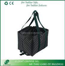 OEM customized fashion shopping bags to graphic design fashion shopping bag of environmental portable folding bag