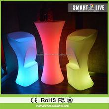 Beauty Salon Furniture/LED Illuminated Sofa one seat glow sofa