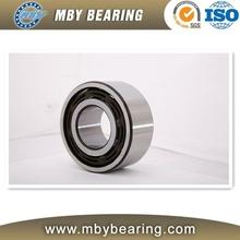 High speed thin wall double row angular contact ball bearing 3906A