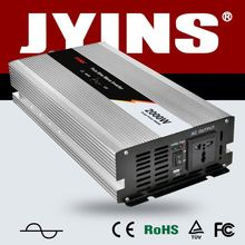 12v 220v pure sine wave 2000w inverter converts 12V DC from battery to 230/120 Volt AC for solar system/household