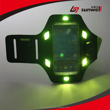 New LED Flash Sports Running Armband Case