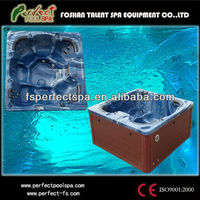 Outdoor luxury spa hot tub