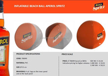 PVC inflatable special model ball ,half+half color panels' ball