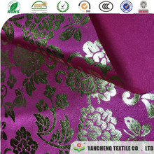 polyester and rayon with foil for Bottoms