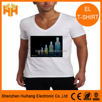 Cheap pure cotton electroluminescent fabric