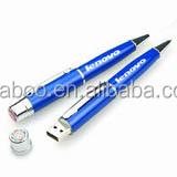 promotion gift ball pen usb, china electronics mini usb pen drive, wonders gifts usb pen drive with laser light