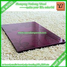 uv high gloss painting acrylic mdf boards