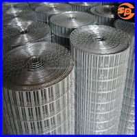 """Green fence SS304 1/4"""" mesh welded wire mesh/stainless steel wire mesh"""
