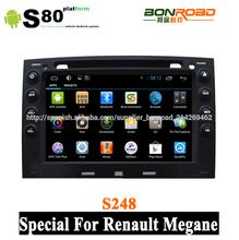 coche reproductor de dvd para renault megane con navegación gps ipod 3g usb