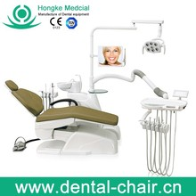 Fashion dental unit HK-630 with 3 memory way and camera system