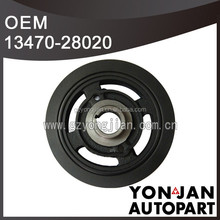 Camry Crankshaft Pulley 13470-28020 for Toyota Axle Pulley engine 1AZFE/2AZFE