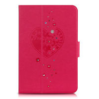 2013 New product leather case for ipad mini 360 Rotate