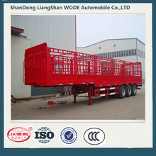 High Quality 3 Axle Cargo Transport Truck Semi Trailer