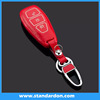 leather car key cover for ford smart key cover, remote key cover with hot selling colors