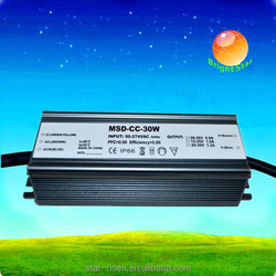 12v Waterproof led power supply CE ROHS SAA 30w waterproof electronic led driver
