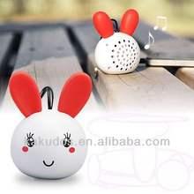 Wholesale High Quality Portable Mini Speaker Cute Animal Design Factory Price