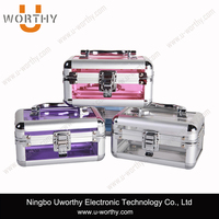 Hair Stylist Beauty Kit Tool Case/ Aluminum Cosmetic Case