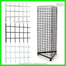 Customized chrome/powder coating metal gridwall grid wall panel