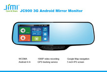 Jimi Interior Rearview Mirrors Android 4.4 Os Wifi 3g Car Stereo Dvd Player Gps Navigation apple car system