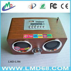 FM auto scan radio with speaker and antenna radio fm LMD-L386