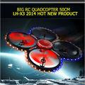 6 eixo gyro rc grande quadcopter em tempo real de transmissão de vídeo de alimentos com lcd de controle no walmart atacado
