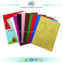 high quality Horizon non-toxic colorful eva foam glitter sheet
