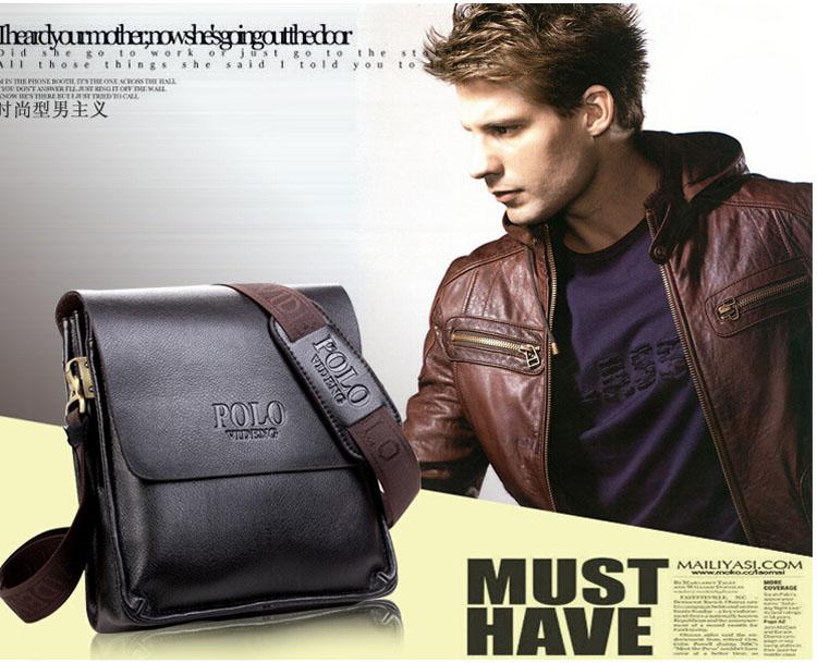 2014 Hot Sale POLO Brand Messenger Bag Men's Bag Over His Shoulder